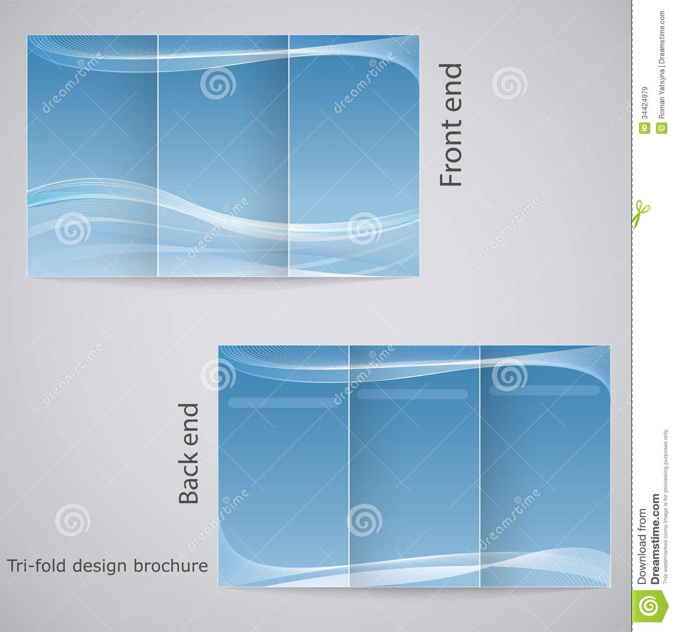 three fold brochure template - 17 tri fold brochure design templates images tri fold