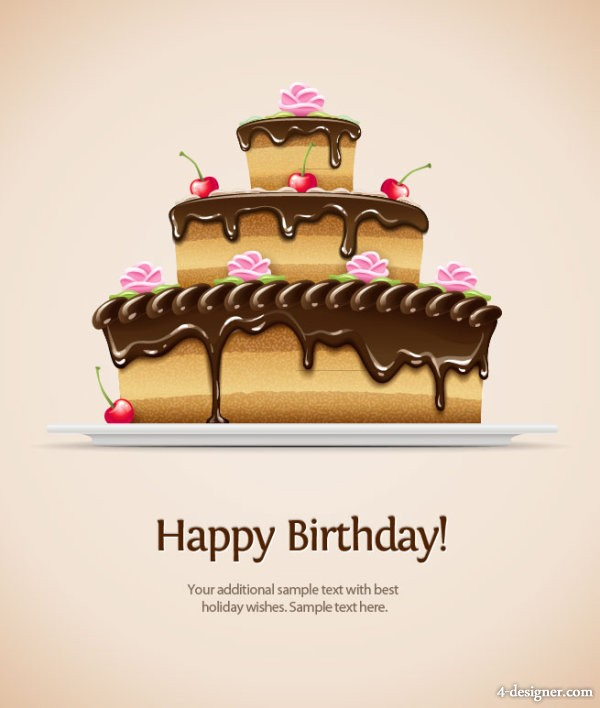 Free Vector Birthday Card