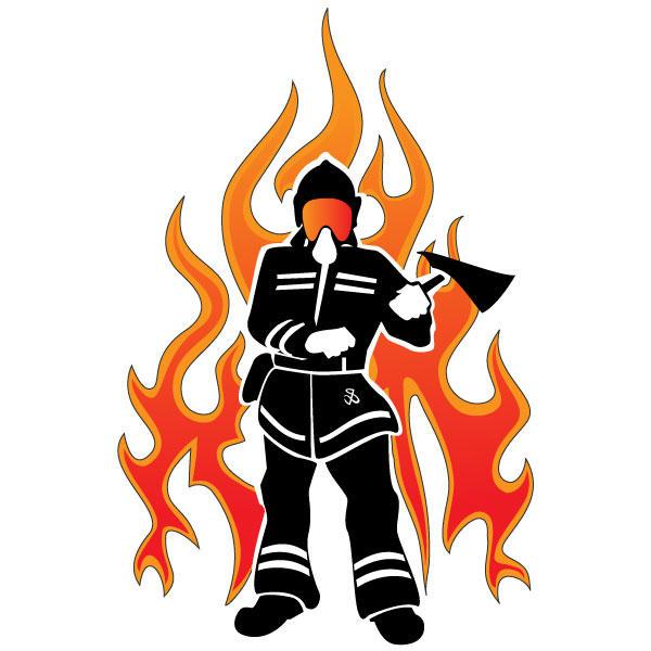 11 Firefighter Vector Art Images