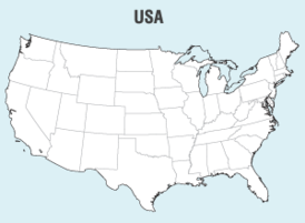 Free Vector United States Map