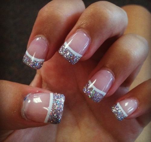 French Tip Nails Tumblr