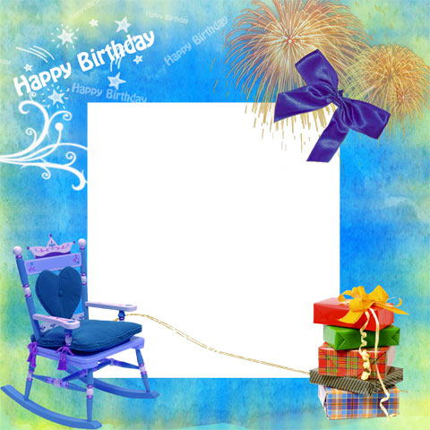 Happy Birthday Frames Photoshop