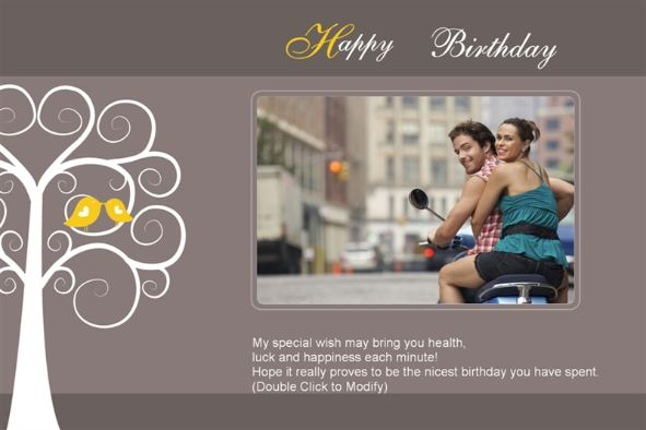 17 Happy Birthday PSD Templates Images