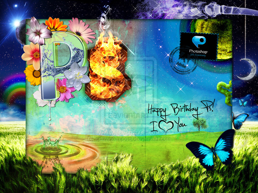 Happy Birthday Photoshop