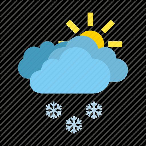 Heavy Snow Weather Icon
