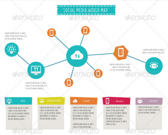 18 Infographic PSD Template Images - Free Infographic