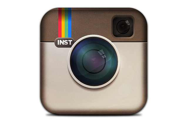 Instagram Logo with Heart