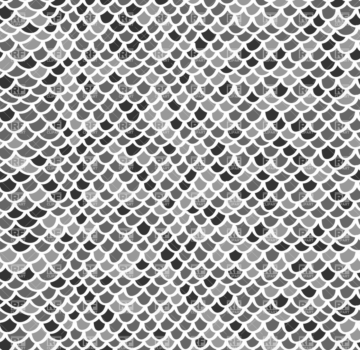 12 Fish Scale Pattern Vector Images Fish Scale Pattern