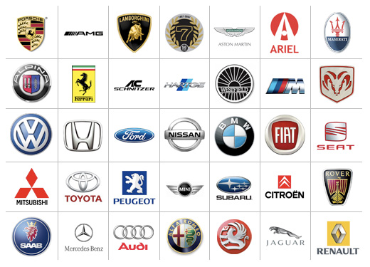 15 Car Company Symbol Icons Identified Images Car Logos With Names