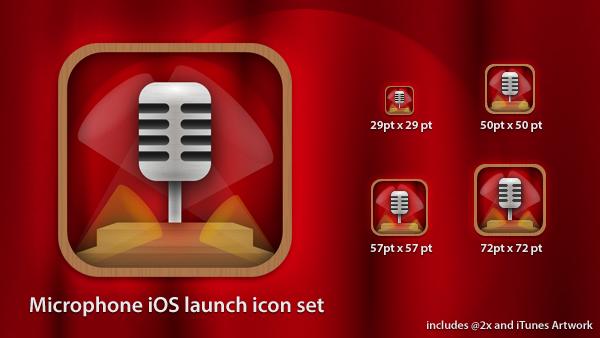 9 Mic Icon IOS Images