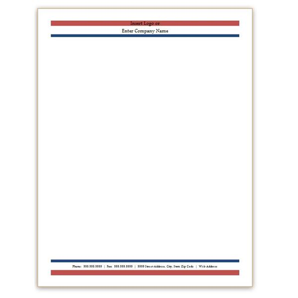 Microsoft Word Letterhead Templates Free Download