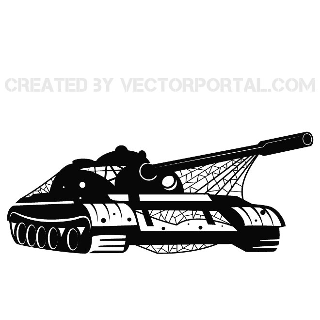 Military Vehicle Vector Clip Art