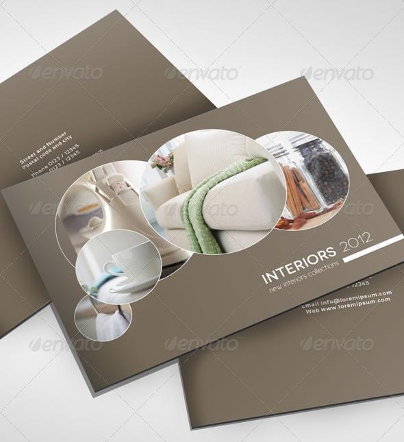 Modern Catalog Design Template