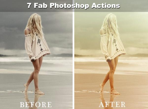 Photoshop Portrait Actions