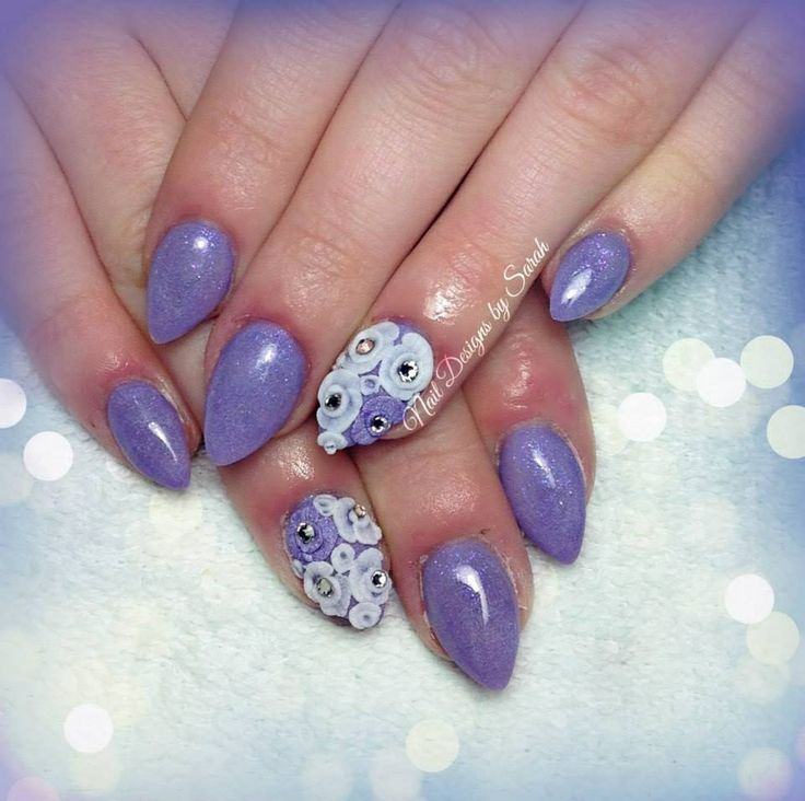 Pointed Gel Nails
