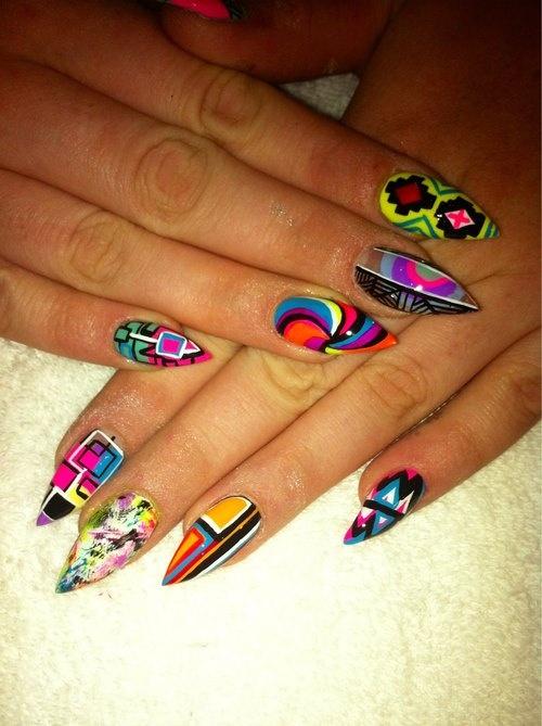 Pointed Nail Designs Tumblr