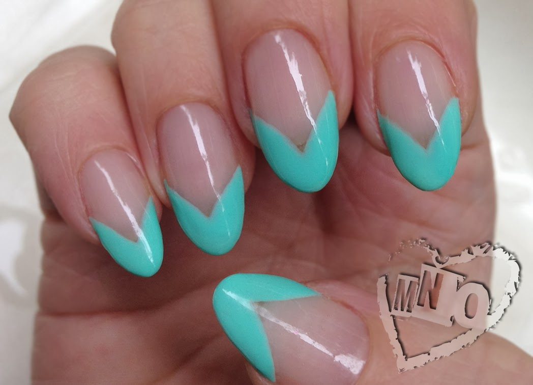Pointy French Nail Designs