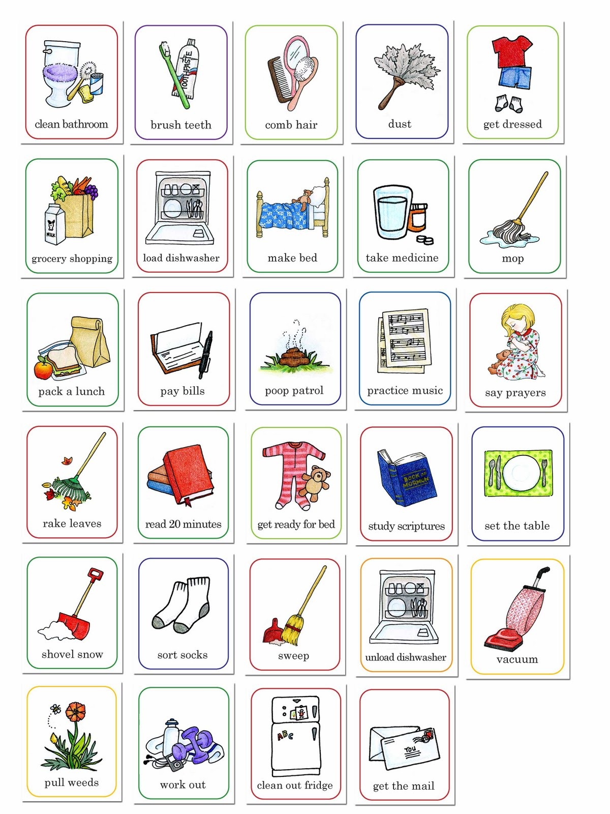 13 Job Chart Icons Images