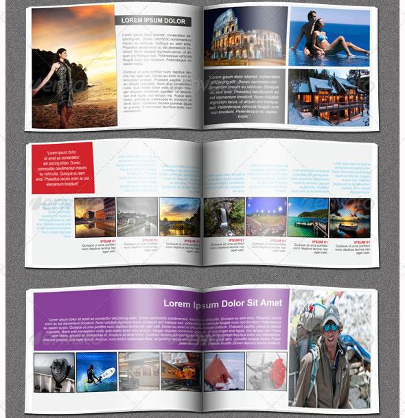 11 Catalog Design Templates Images