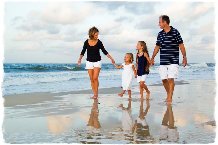 Professional Family Beach Photo Ideas