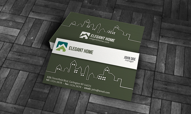 13 real estate business card psd template free images real estate real estate business card templates colourmoves Gallery