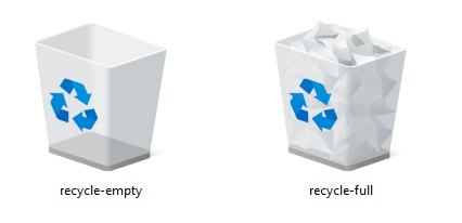 Recycle Bin Icon | iWindows Iconset | Wallec