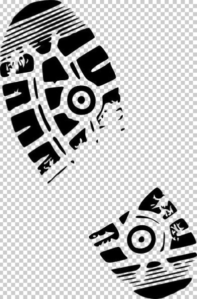 16 Running Shoe Print Vector Free Images