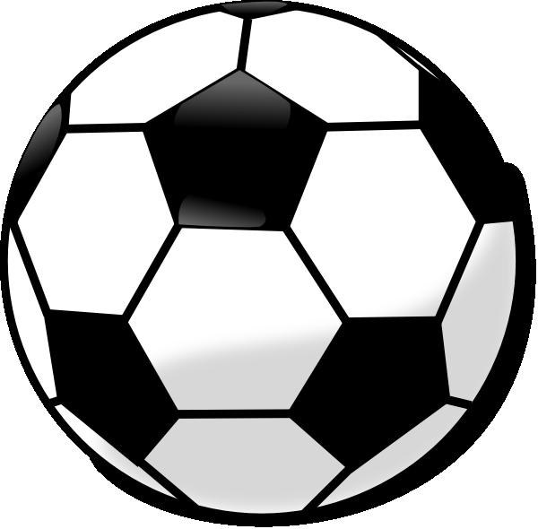 Soccer Ball Clip Art Black and White