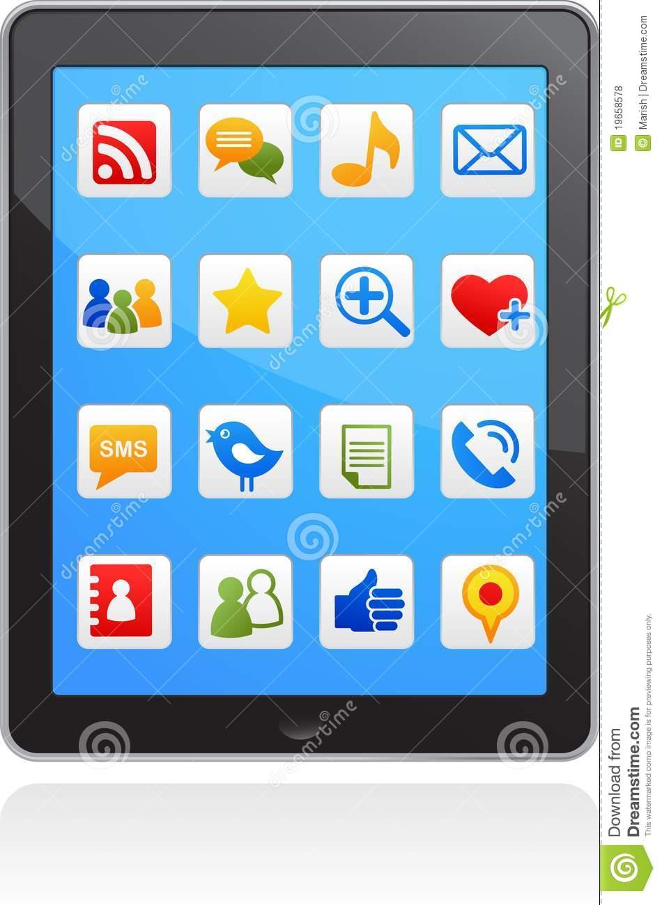 Social Media Icons Vector Free