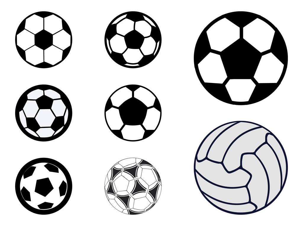 Sport Balls Vector Free