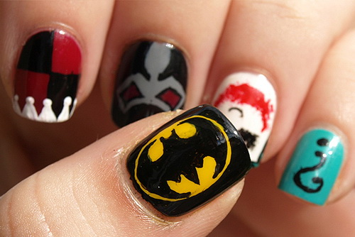 cool and easy nail art designs and cool nail design ideas