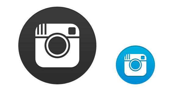 Transparent Instagram Icon Vector