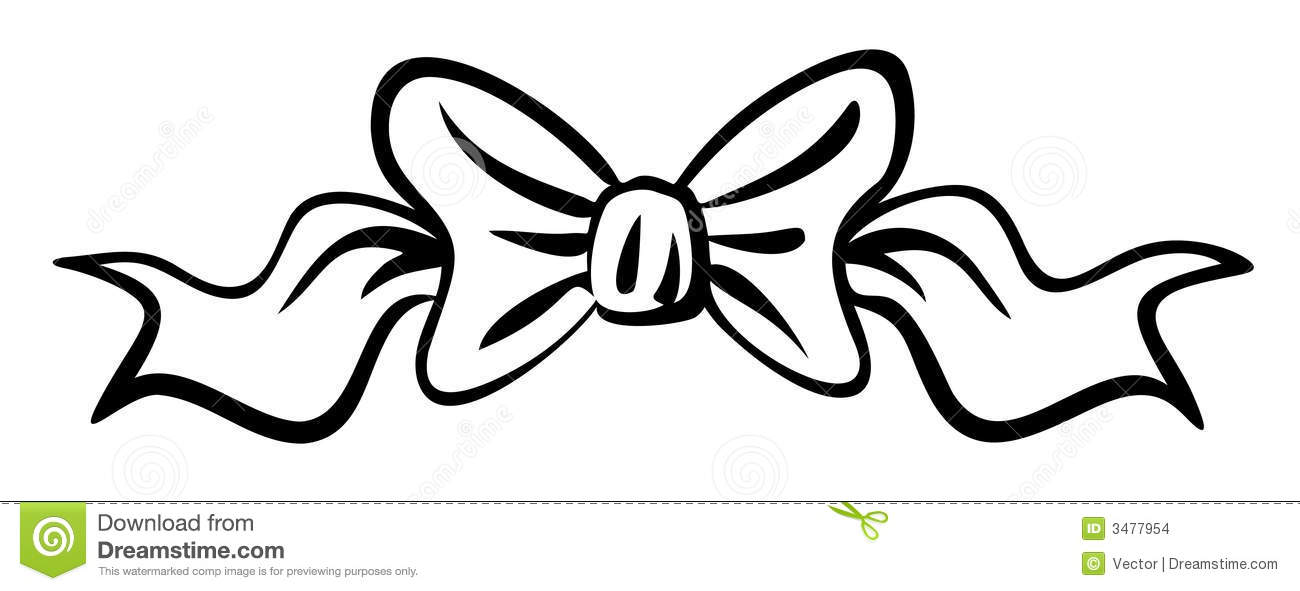Vector Ribbon Bow