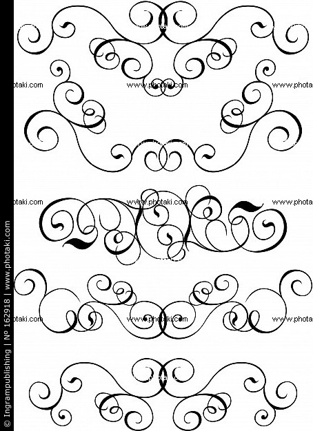Vector Scroll Design Patterns