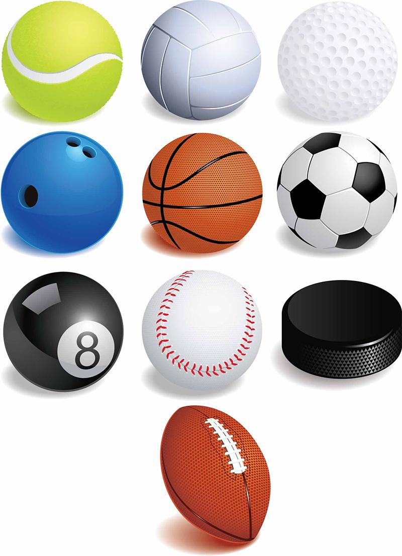 Vector Sports Balls