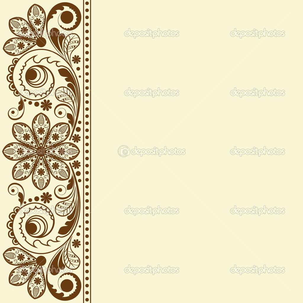 19 Vintage Floral Background Vector Images - Vintage ...