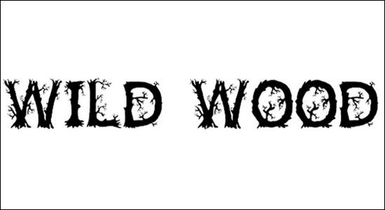 Wild Wood Font