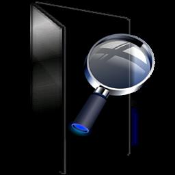 16 Black Folder Icon Windows 7 Images