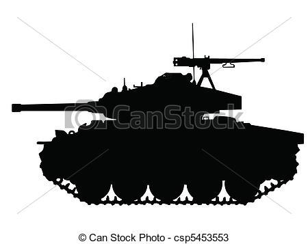 WW2 Tank Clip Art