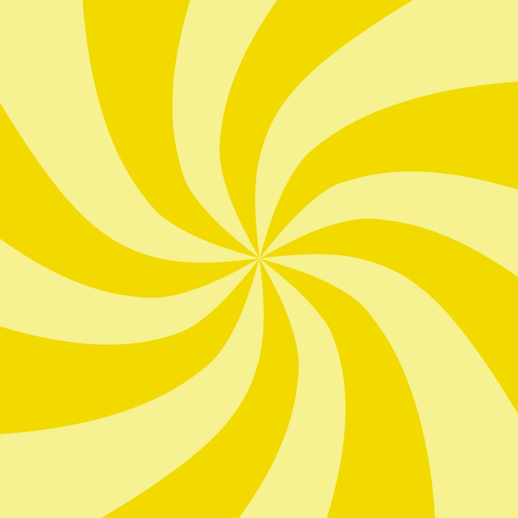 Yellow Swirl Pattern