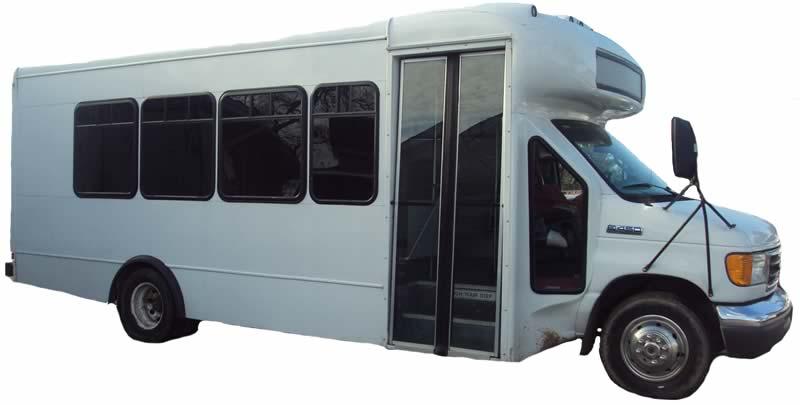 21 Passenger Shuttle Bus