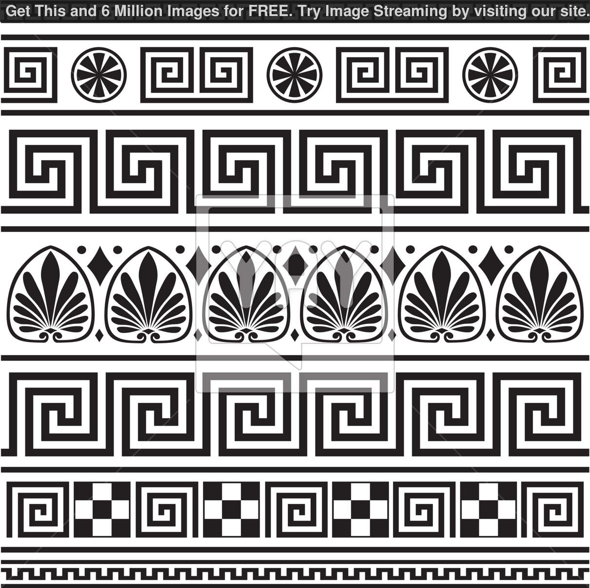 Ancient Greek Border Patterns