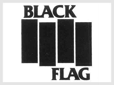 10 Black Flag Font Images