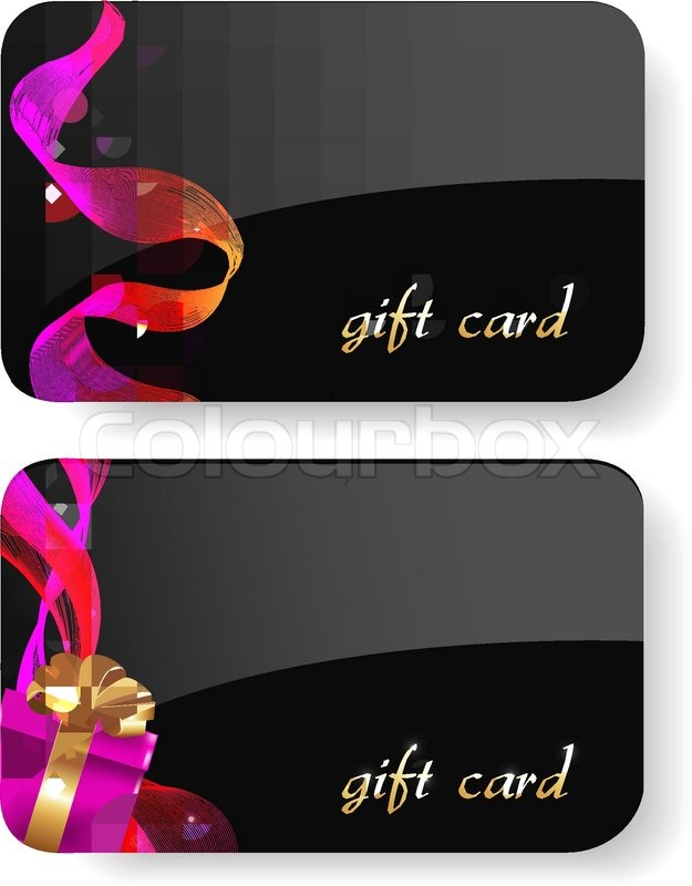 Black Gift Card Boxes