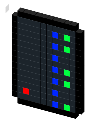 Blade Server Rack Icon