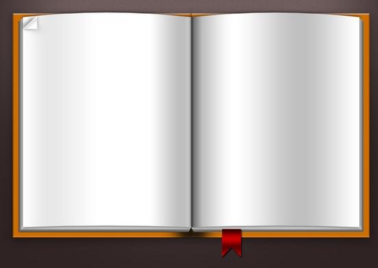 Blank Book Template