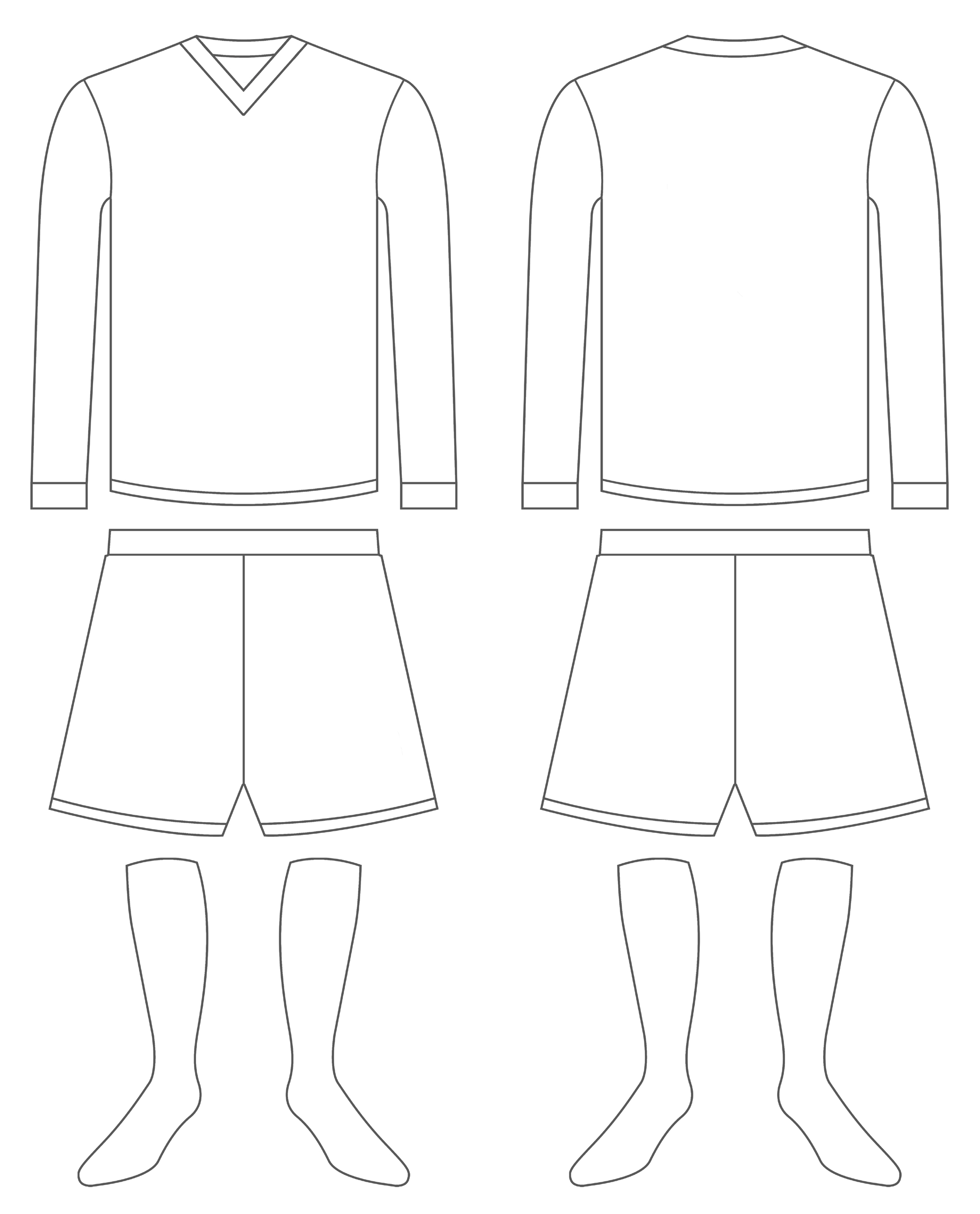 Plain Football Jersey Coloring Pages Printable. Plain