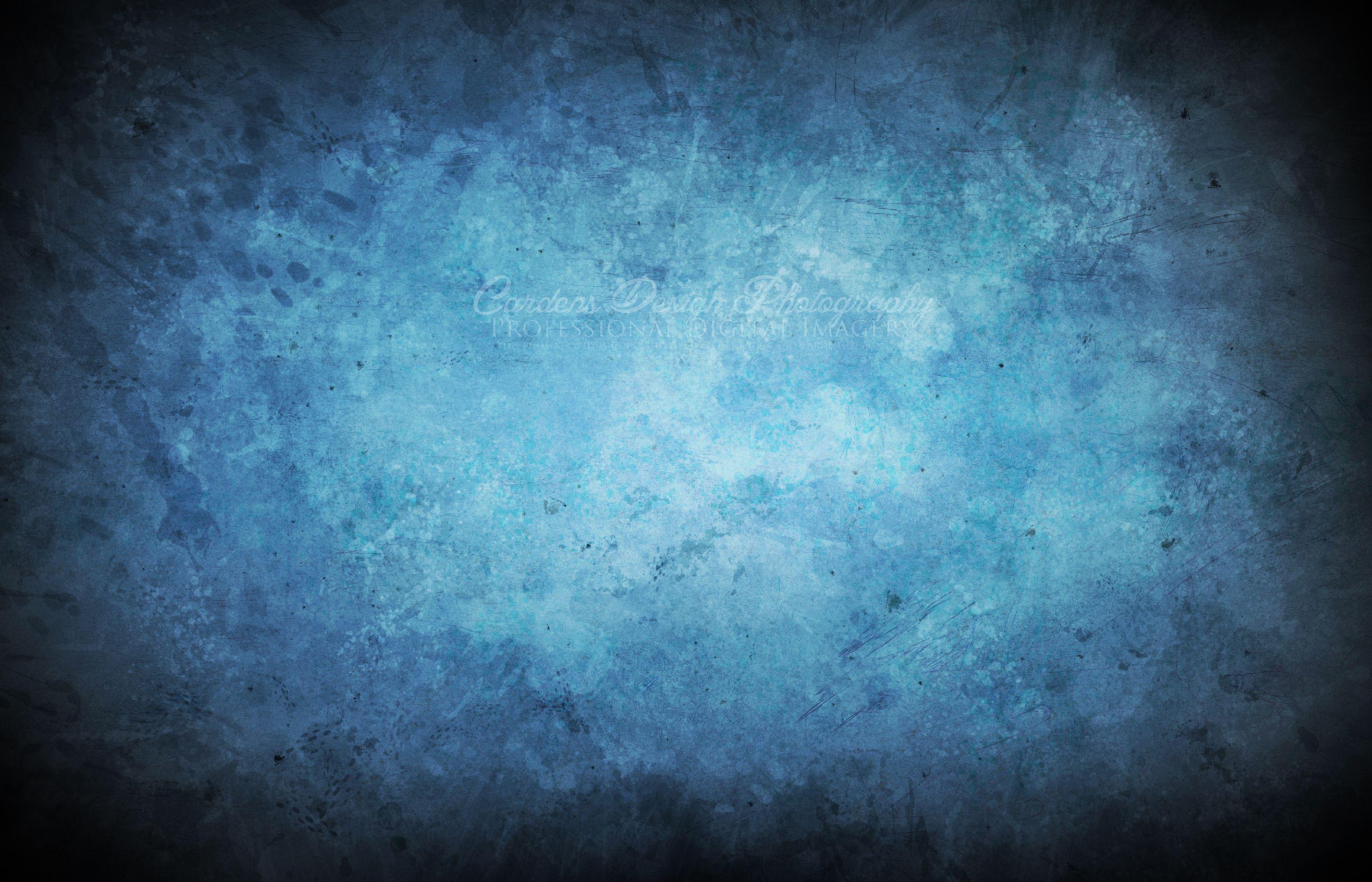 Blue Grunge Paper Texture