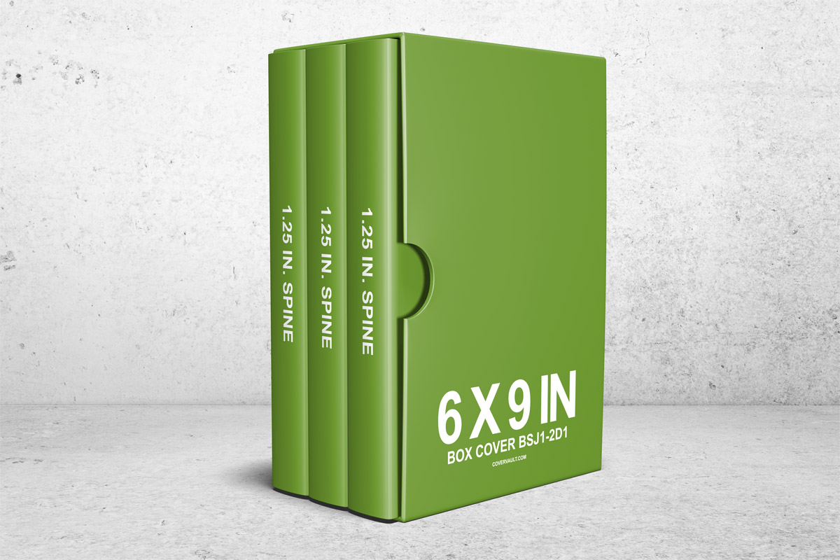 Book Cover Template 6 X 9