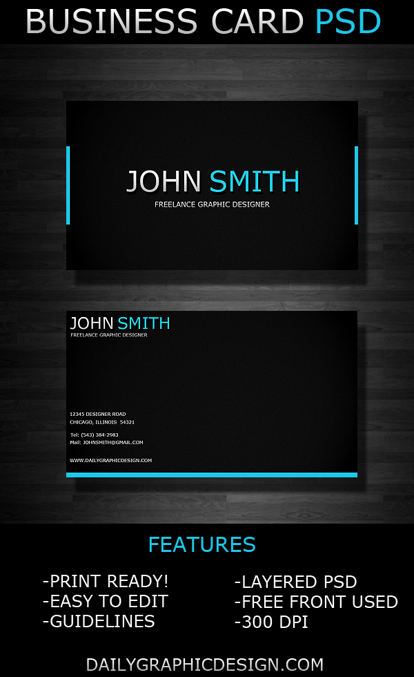 15 PSD Business Card Images